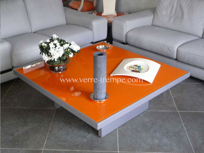 table basse orange fly. Black Bedroom Furniture Sets. Home Design Ideas
