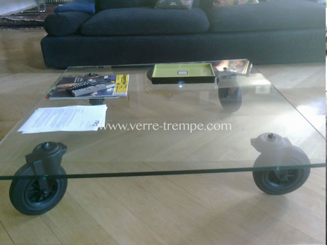 Protection de table en verre tremp verre tremp sur mesure - Verre pour table sur mesure ...