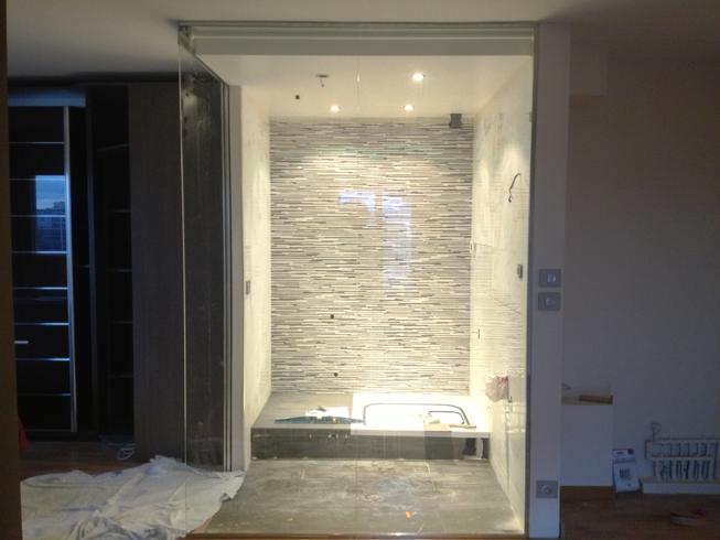 Parois de douche en verre tremp sur mesure verre tremp sur mesure - Porte de douche sur mesure ...